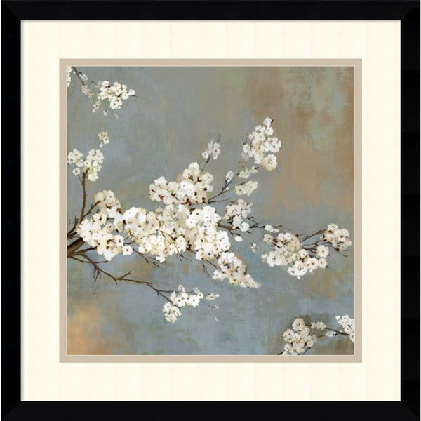 picture of Asia Jensen 'Ode to Spring II' Framed Art Print 17 x 17-inch