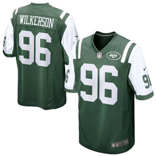 picture of Muhammad Wilkerson New York Jets Nike Youth Team Color Game Jersey - Green