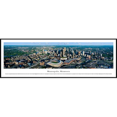 picture of Minneapolis, Minnesota by Christopher Gjevre Framed Photographic Print