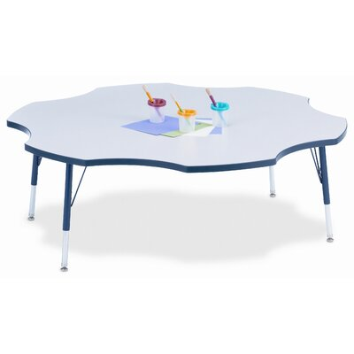 picture of Jonti-Craft KYDZ Six Leaf Laminate Activity Table