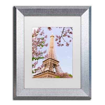 picture of Eiffel Tower in Spring by Ariane Moshayedi Framed Photographic Print