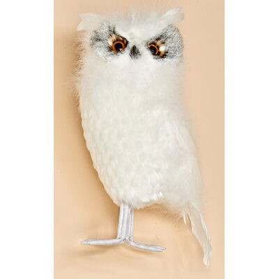 "picture of Worth Imports 7"""""" ""Fourteen"" Standing Snowy Owl"