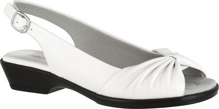 picture of Easy Street Women's Fantasia Heeled Sandal, White, 6.5 W US
