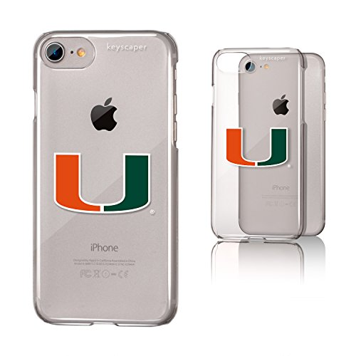 picture of Miami Hurricanes iPhone 7 Clear Case NCAA