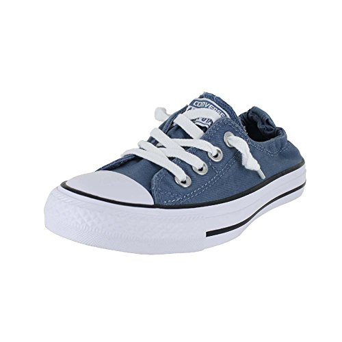 56f7d32d52aa picture of CONVERSE WOMENS CTAS SHORELINE SLIP ON BLUE COAST WHITE SIZE 5