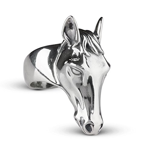 picture of American West Sterling Silver Horse Ring