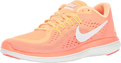 845011eeecbd Nike Women s Flex 2017 Rn Running Shoe Orange (6) - 884497656120