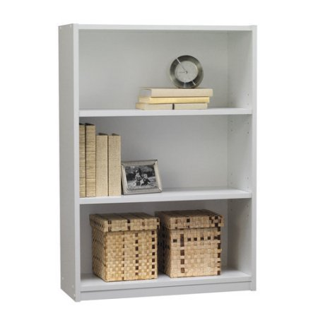 picture of Mainstays 3-Shelf Bookcase, White