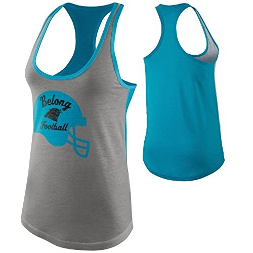 picture of Nike Carolina Panthers Women's Helmet Tank Top 608283 063 Size S