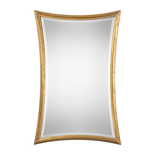 picture of Uttermost Vermejo Scalloped Gold Mirror