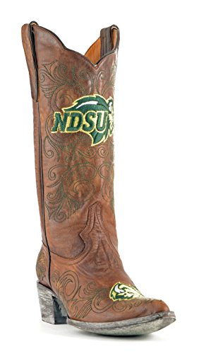 picture of NCAA North Dakota Women's 13-Inch Gameday Boots, Brass, 11 B (M) US