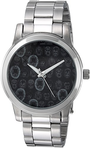 picture of Marvel Men's 'Comics' Quartz Metal and Stainless Steel Casual Watch, Color:Silver-Toned (Model: WMA000059)