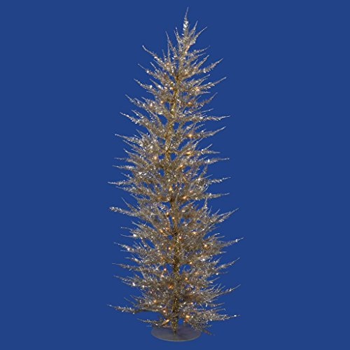 picture of Vickerman Champagne Laser Christmas Tree