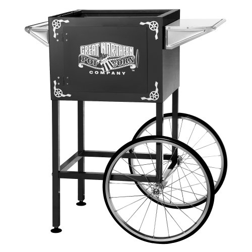 picture of Black Replacement Cart for Larger Lincoln Style Great Northern Popcorn Machines