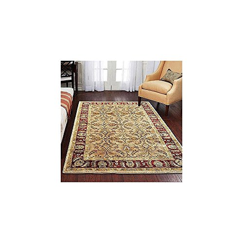 Better Homes And Gardens Karachi Olefin Rug Bisque