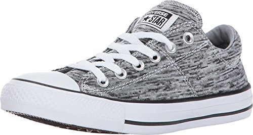 36c4b77e9256 picture of Converse Chuck Taylor All Star Madison - Ox Black Wolf Grey Women s  Lace