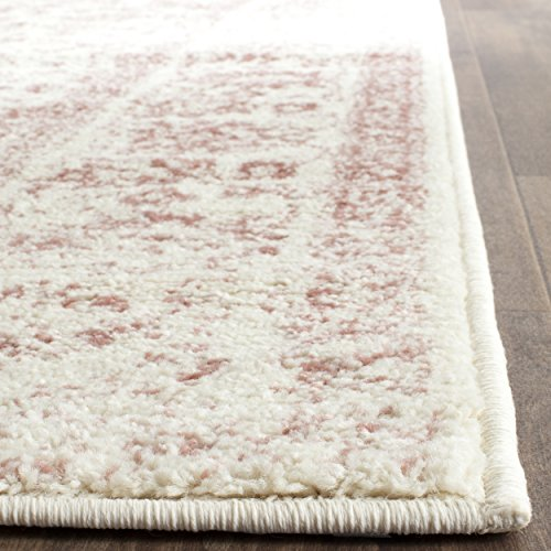 picture of Safavieh Adirondack Collection ADR109H Ivory and Rose Oriental Vintage Area Rug (3' x 5')