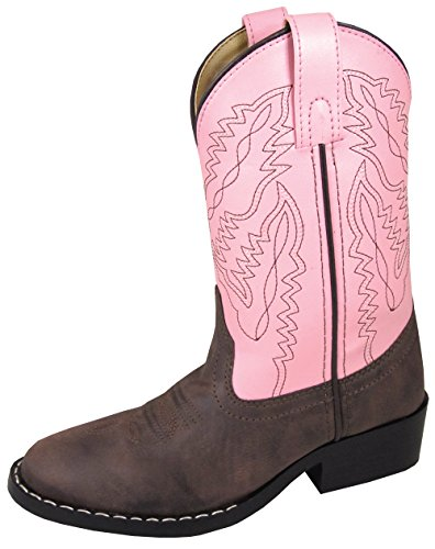 01dbf1863e00d picture of Smoky Mountain Youth Girls Monterey Boots Brown Pink