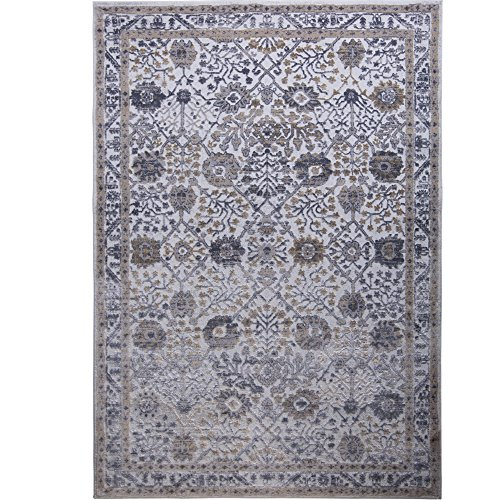 Kenmare Gray Blue 9 2 Quot X 12 5 Quot Area Rug Inspired By