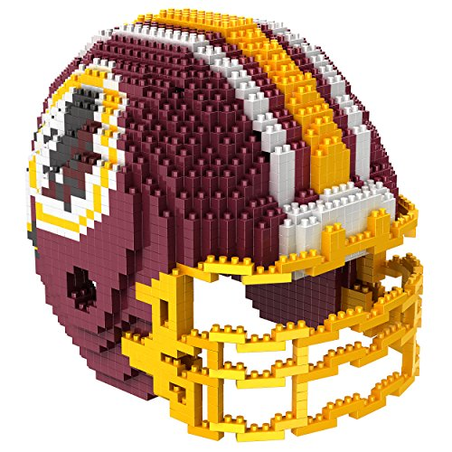 picture of NFL Washington Redskins Mini BRXLZ Helmet Building Blocks, One Size, Red