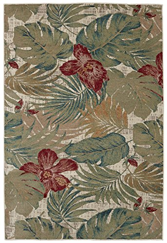 picture of Mohawk Home Destinations Clearwater Area Rug, 9'6 x 12'11, Emerald