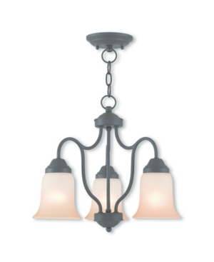 picture of Livex Karysa 3-Light Convertible Dinette Chandelier/Ceiling Mount