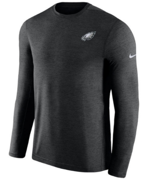 picture of Nike Men's Philadelphia Eagles Coaches Long Sleeve Top