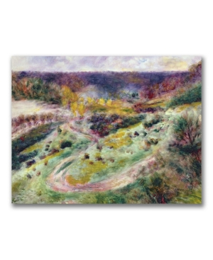 "picture of Pierre Auguste Renoir 'Landscape at Wargemont' Canvas Art - 24"" x 18"""